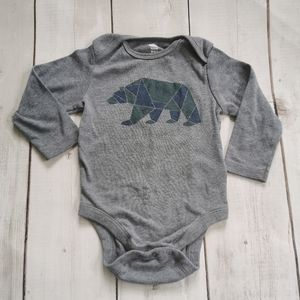 Long Sleeve Polar Bear Onesie